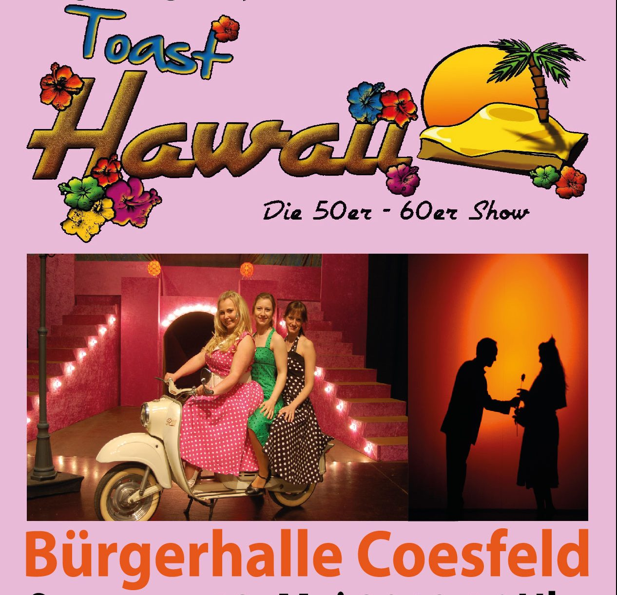 toast hawaii coesfeld theater an der niebuhrg. Black Bedroom Furniture Sets. Home Design Ideas