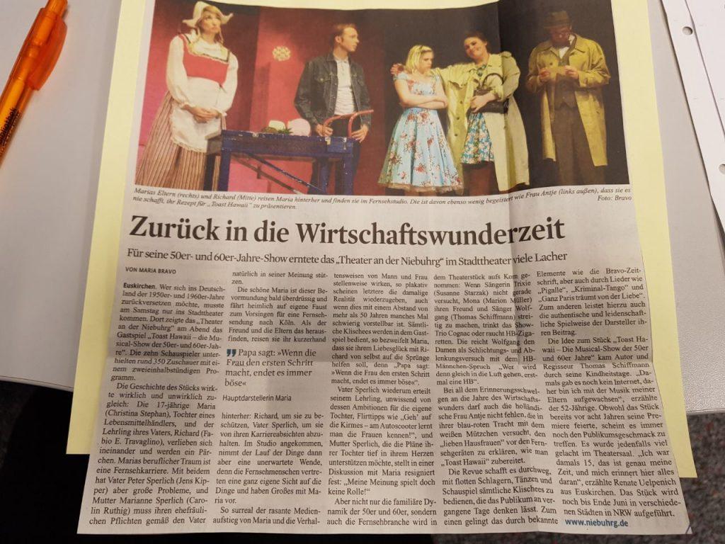 Zeitungsartikel Euskirchen 2018
