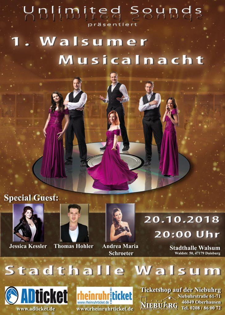 1. Walsumer Musicalnacht