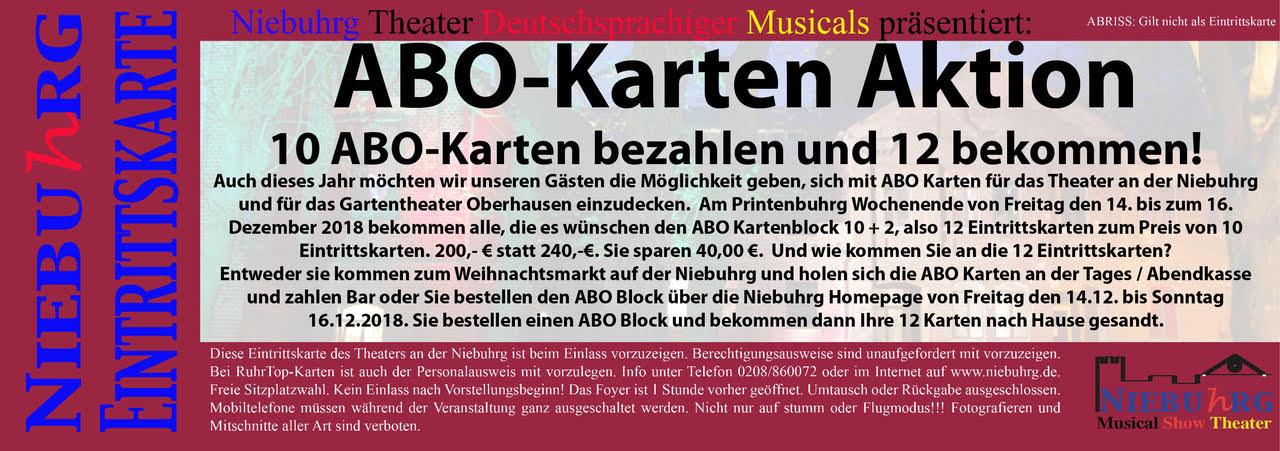 Ruhrtop Karte.Abo Karten Aktion 2018 Theater An Der Niebuhrg