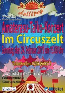 Amaterasu Taiko im Circuszelt