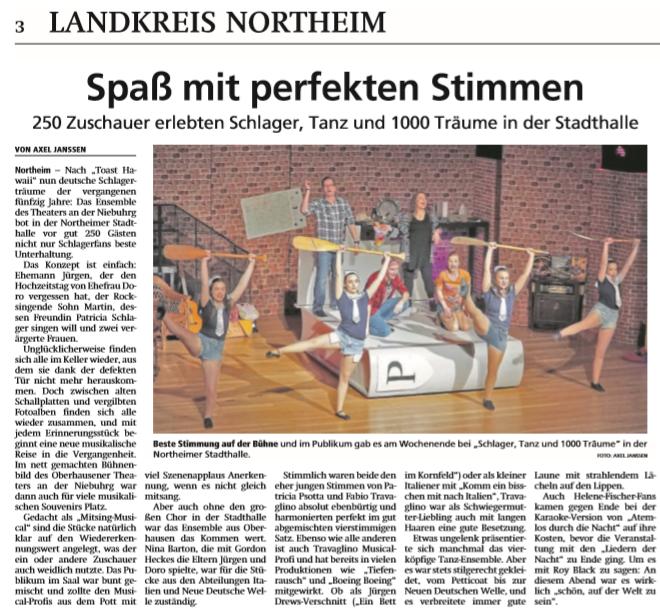 Zeitungsartikel STT Northeim