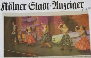 Zeitungsartikel STT Bergisch Gladbach
